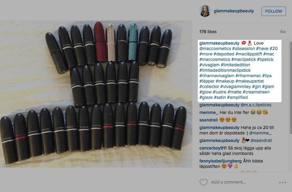 hashtag - công cụ hữu hiệu khi bán hàng trên instagram