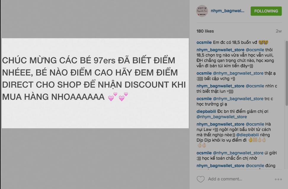 Bắt trend tốt khiến bán hàng trên instagram hiệu quả