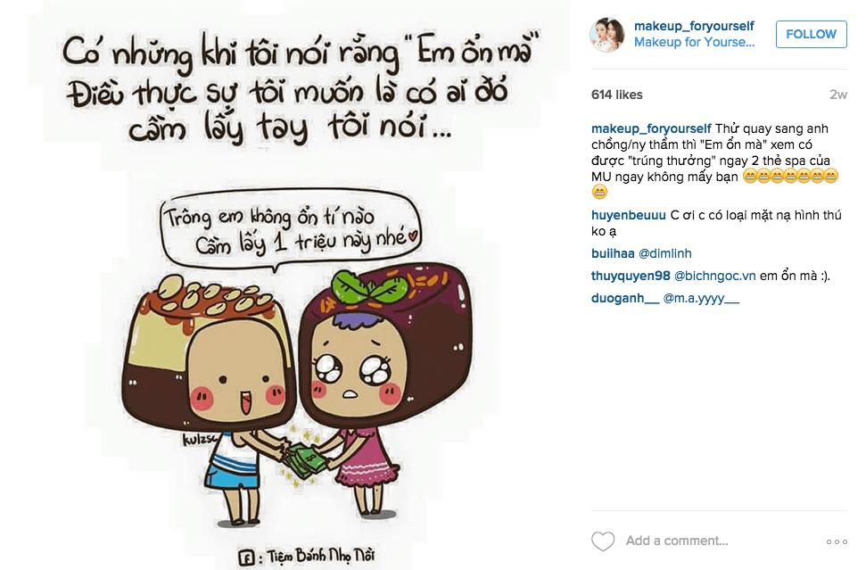 Đừng quá tập trung vào bán hàng trên instagram, hãy chia sẻ cả chuyện đời thường