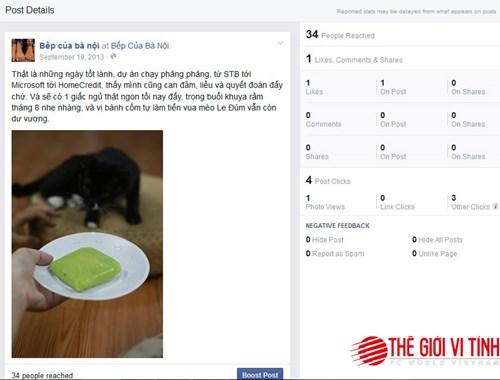 Mẹo vặt facebook fanpage có thể bạn chưa biết!