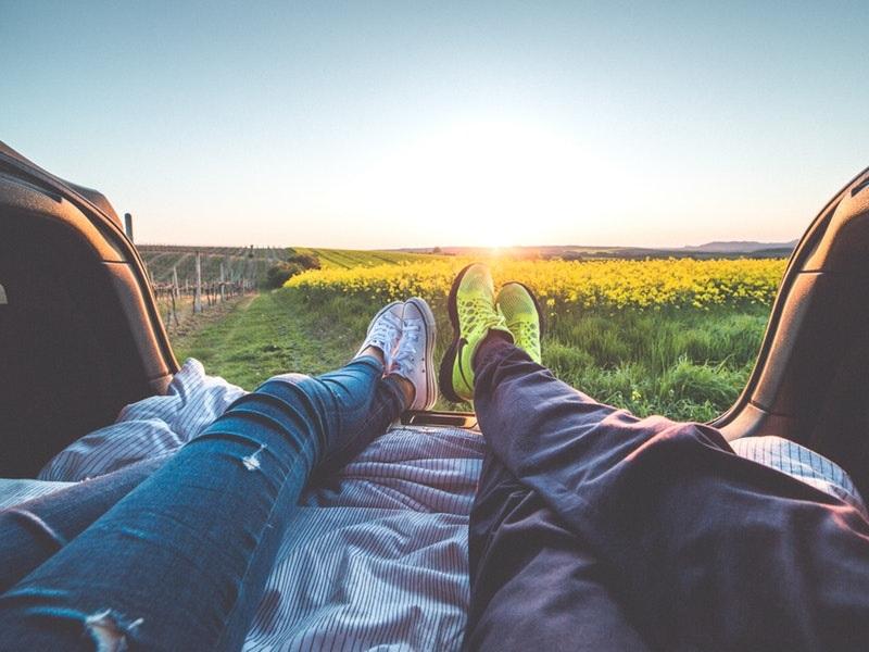 Tưởng tượng bạn đang đi du lịch