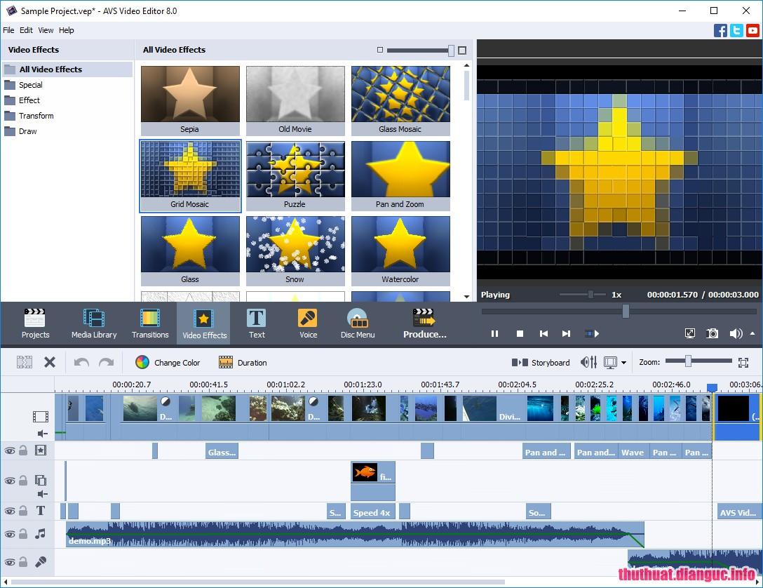 Phần mềm edit video hiệu quả